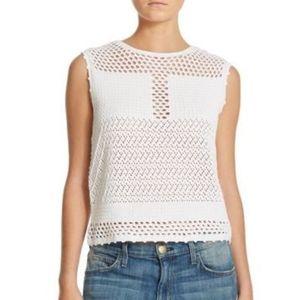 Generation Love | Crochet Knit Tank Top Medium